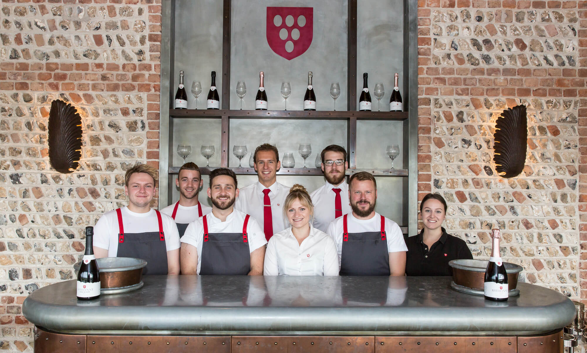 Rathfinny Tasting Room Team