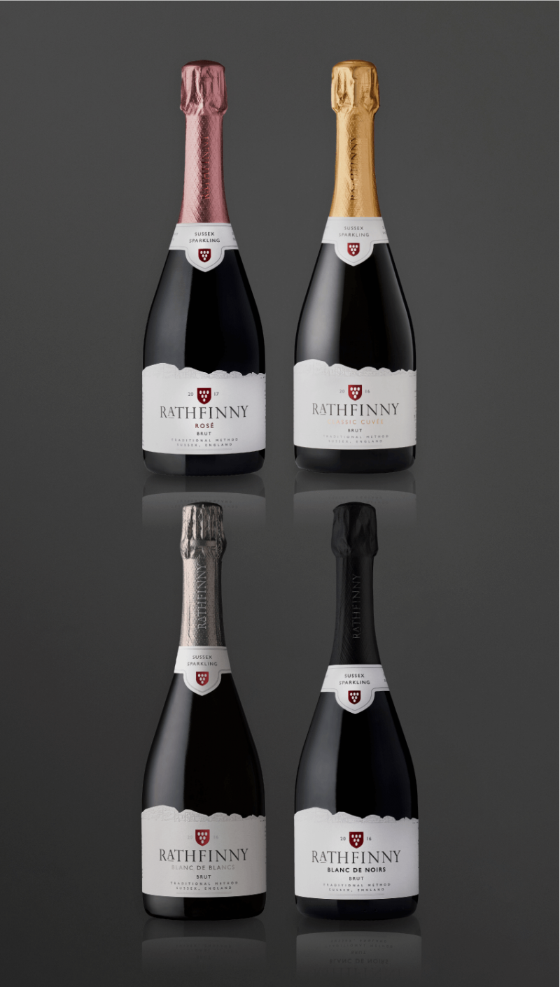 Rathfinny Sussex Sparkling wine portfolio