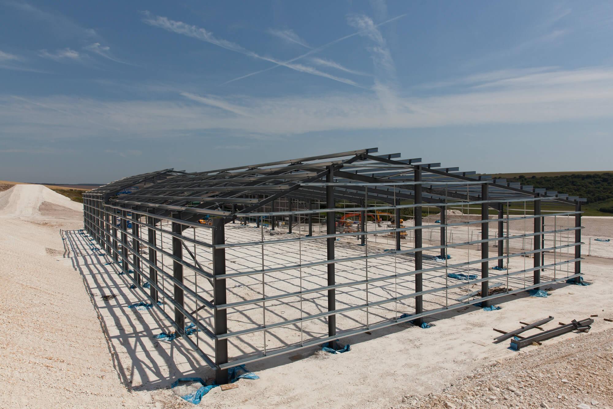 Building Construction at Rathfinny