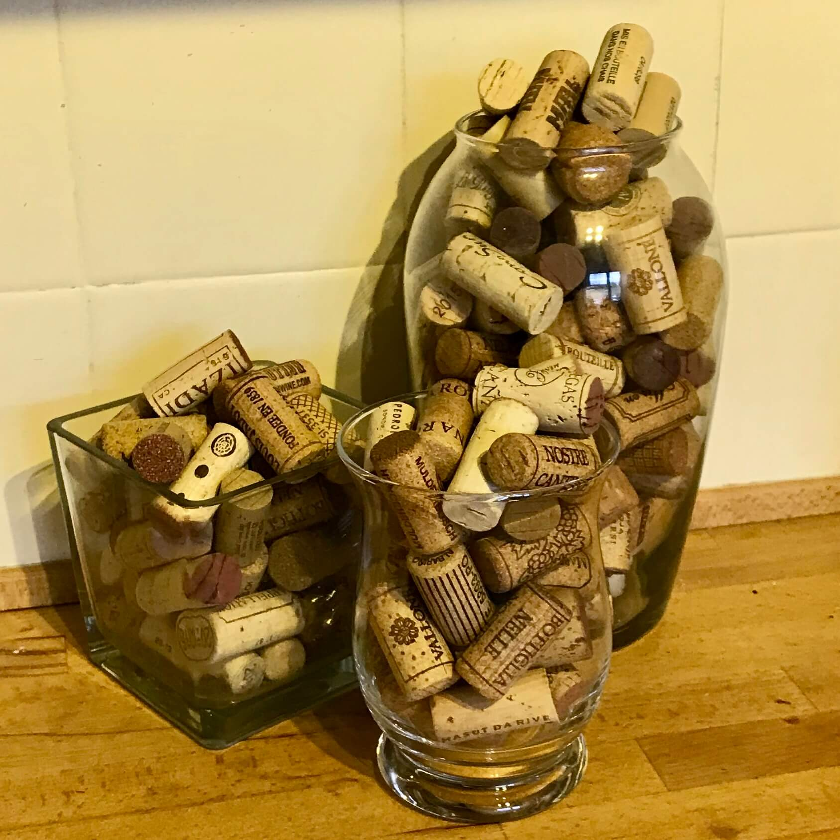 Corks in a Vase
