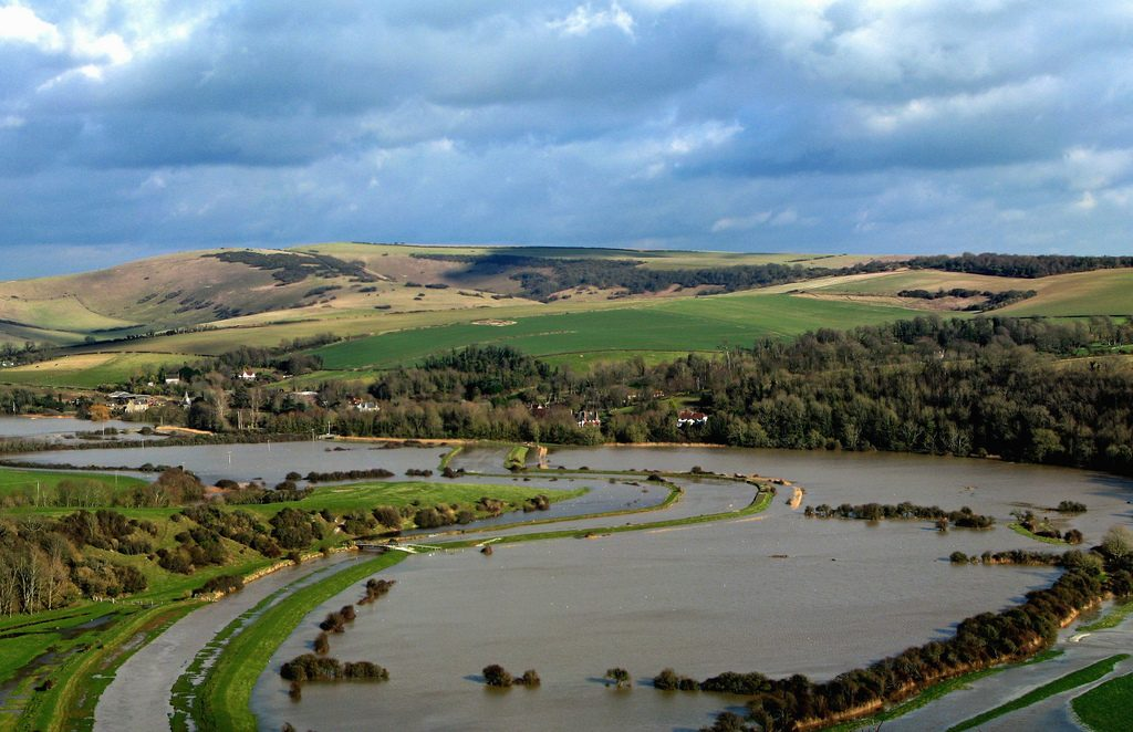 Cuckmere Valley Flooding