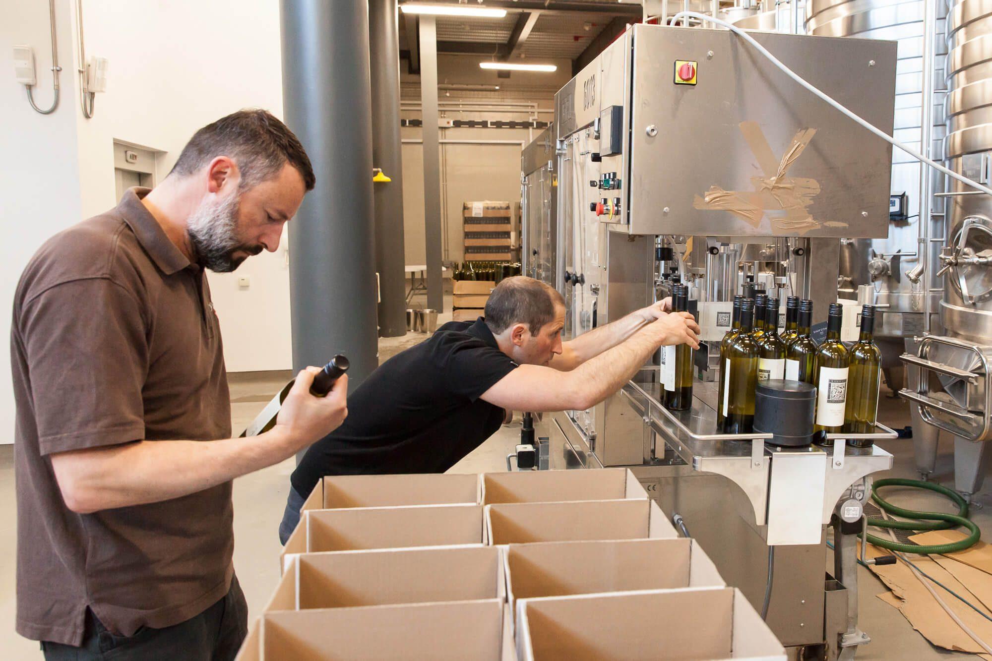 Hand Loading Bottles