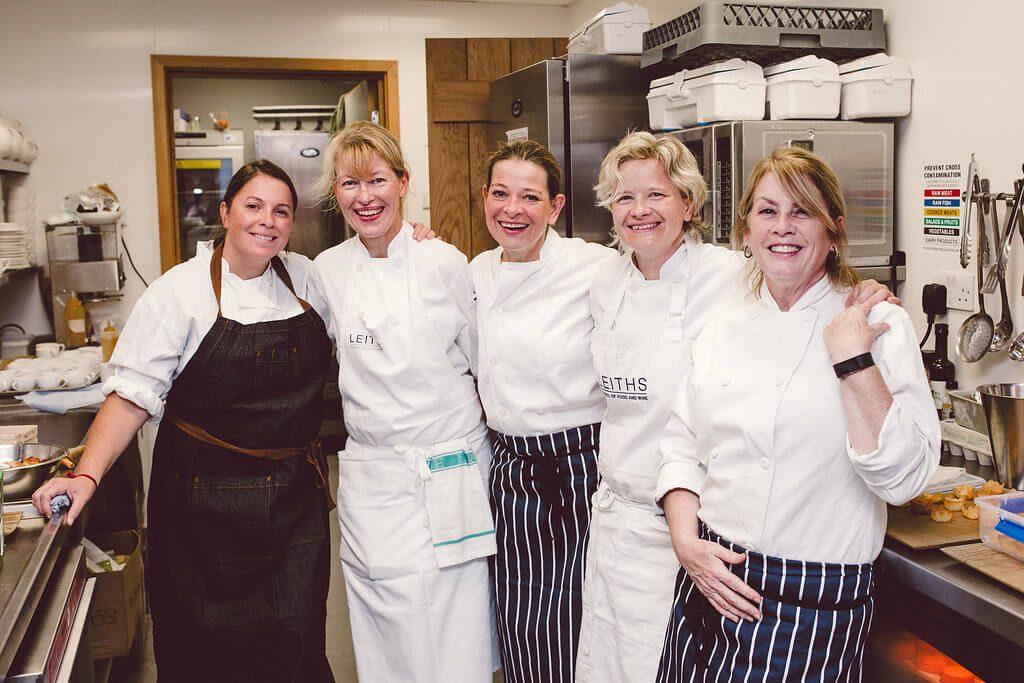 5 Female Chefs