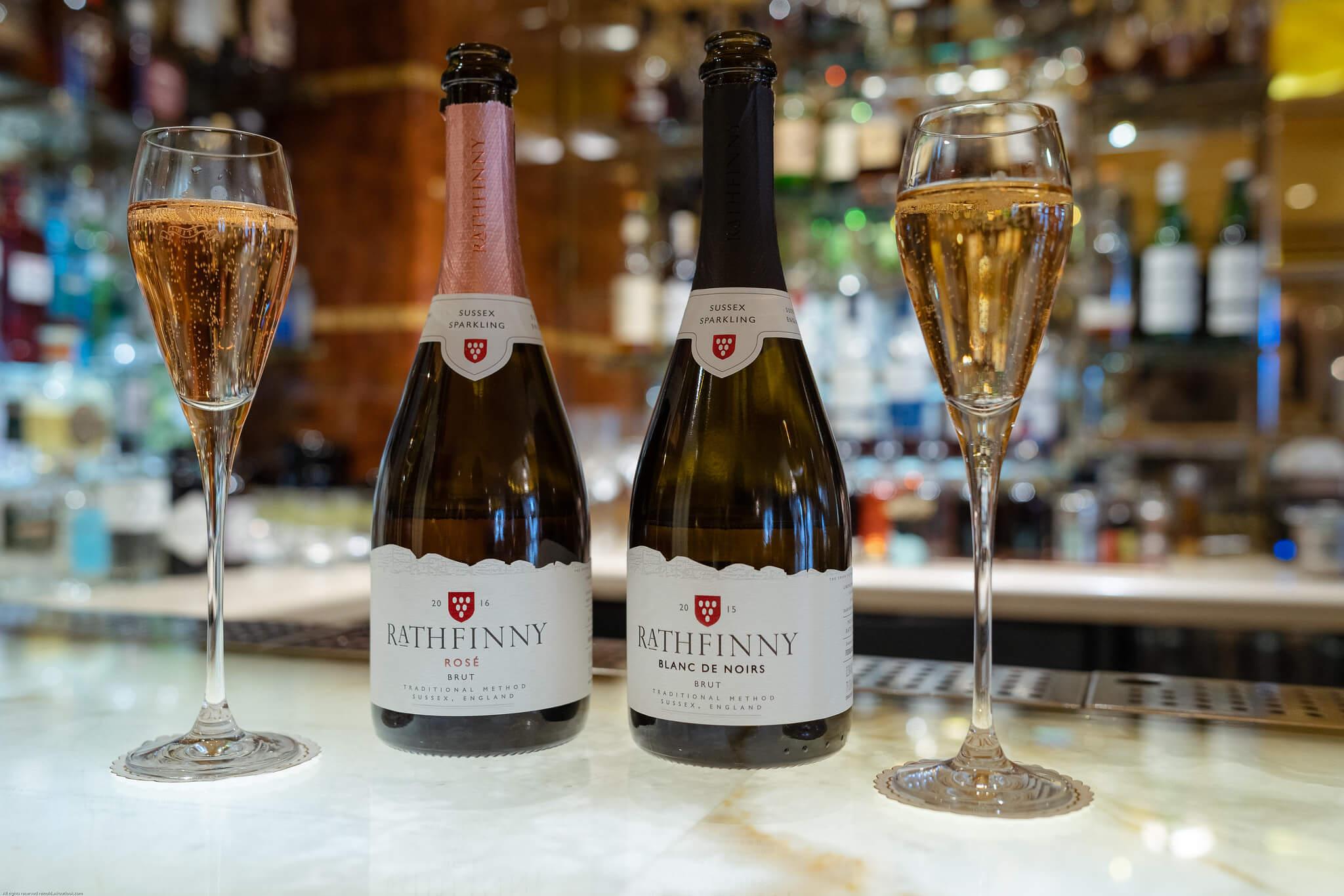 Rathfinny Sussex Sparkling Wine at the Ritz