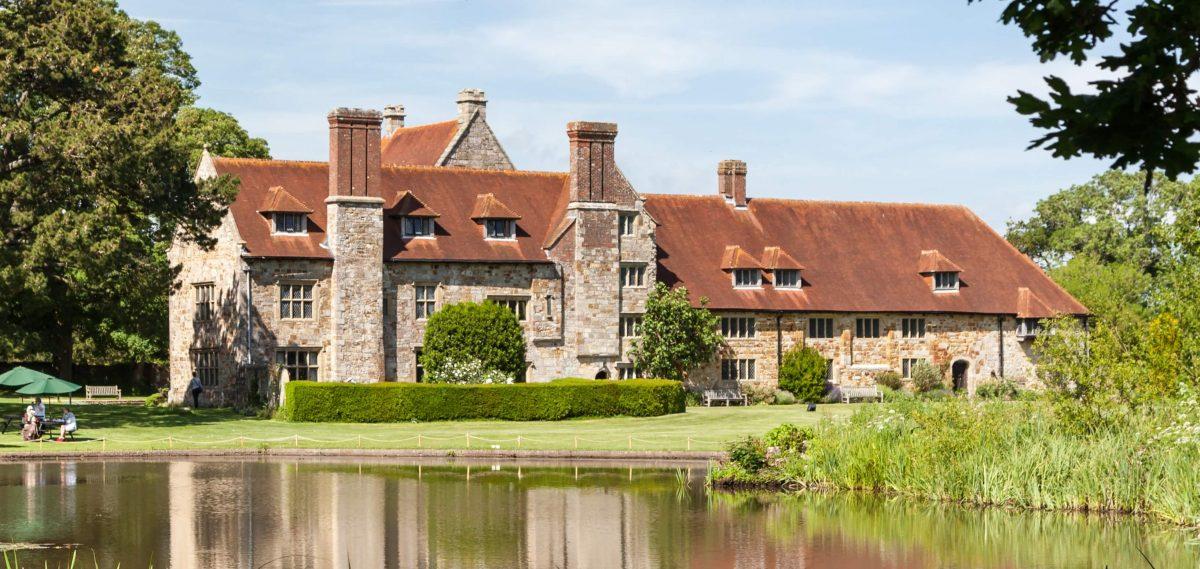 Michelham Priory Moat