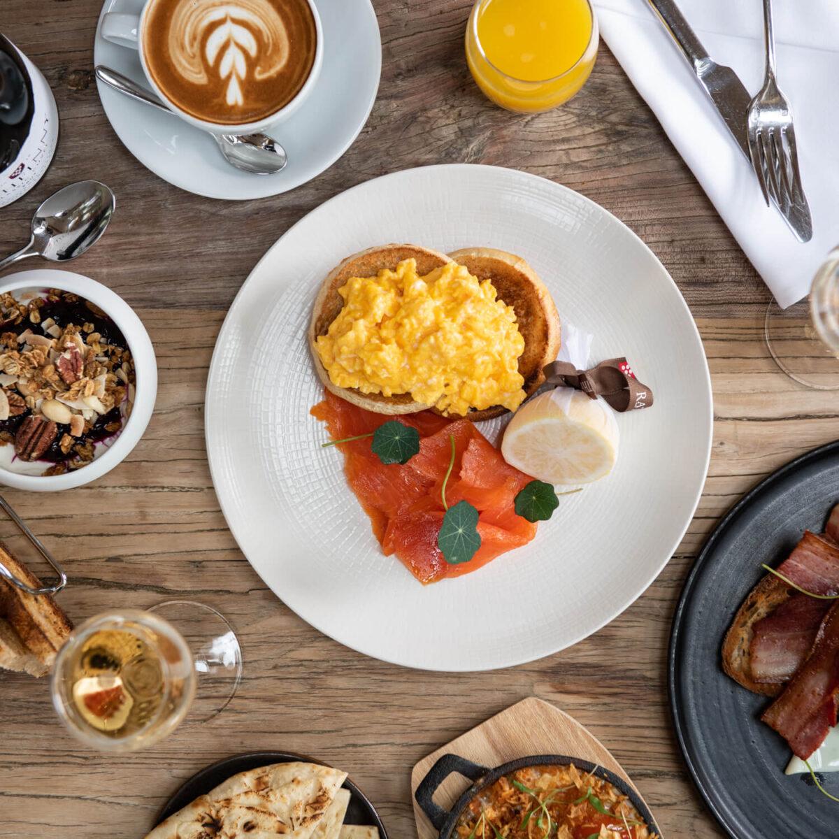 Rathfinny breakfast