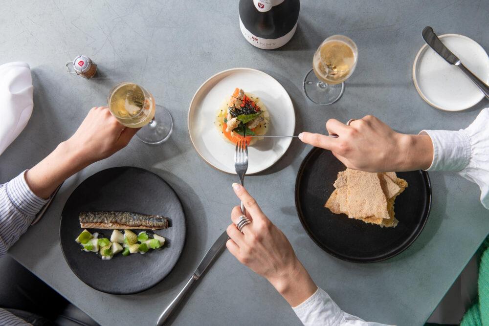 Vineyard dining